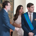 Casillas dan Carbonero (Dailymail)