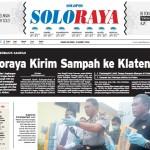Halaman Soloraya Harian Umum Solopos edisi Kamis, 31 Maret 2016