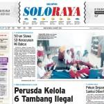 Halaman Soloraya Harian Umum Solopos edisi Rabu, 16 Maret 2016