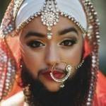 Harnaam Kaur sebagai model pembuka acara fesyen ternama (Independent)