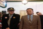 Ketua Dewan Wali Amanat Panitia Pembangunan Dunia Untuk Wilayah Nusantara JOGJA-DEC, Totok Santoso Hadiningrat (kanan/berdasi) dan KRT Pujaningrat (kiri) saat deklarasi JOGJA-DEC di Ndalem Pujakusuman, Jumat (11/3/2016). (Ujang Hasanudin/JIBI/Harian Jogja)