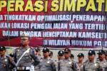 FOTO OPERASI SIMPATIK 2016 : Lebih 2.000 Polisi Jateng Siap Operasi