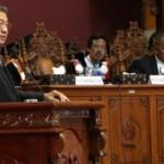 SBY menyampaikan orasi ilmiah di Kampus Unnes, Sekaran, Semarang, Rabu (30/3/2016). (JIBI/Solopos/Antara/Aditya Pradana Putra)