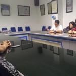 KUNJUNGAN SOLOPOS : Pengganti Puan Maharani di DPR Kunjungi Solopos