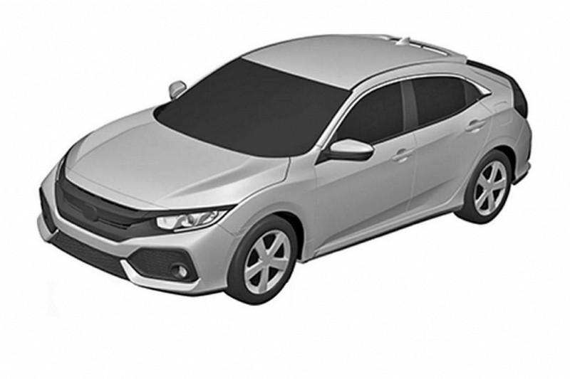 Paten Honda Civic hatchback. (Worldcarfans.com)