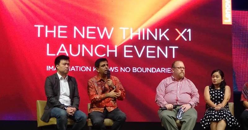 Peluncuran Lenovo Think 11 (Okezone)