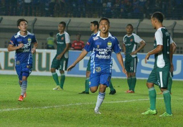Persib vs PS TNI (Persib.co.id)