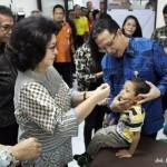 PEKAN IMUNISASI NASIONAL : Ini 6 Kabupaten/Kota di Jateng Capai 100% PIN Polio