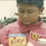 Rio Haryanto saat masih kecil (vidio.com)