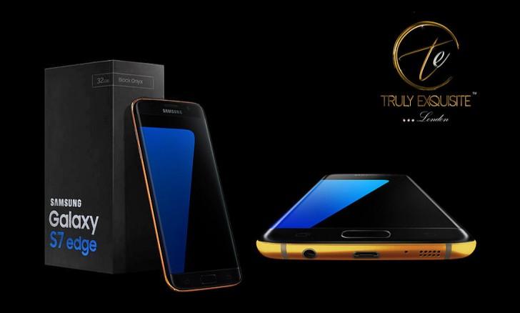 Samsung Galaxy S7 Gold (Gsmarena)