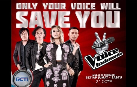 The Voice RCTI (Twitter.com)