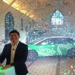 Group CEO and Co-founder Grab Anthony Tan dalam acara Peluncuran Perubahan Merek dan Logo Grab di Singapura, Kamis (28/1/2016). (Fauzul Muna/JIBI/Bisnis)