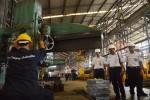 3 Menteri Kunjungi PT Inka Madiun untuk Teken Kerja Sama