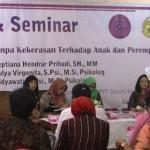 KEKERASAN TERHADAP PEREMPUAN : Perempuan dan Anak Semarang Korban Kekerasan Terus Meningkat