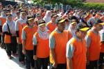 Apel siaga petugas Sensus Ekonomi (SE) DIY umat (18/3/2016). (Yudho Priyambodo/JIBI/Harian Jogja)