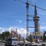 INFRASTRUKTUR KLATEN : DPU: Pemangkasan Ketinggian Menara Masjid Demi Keselamatan