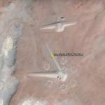 FENOMENA UFO: Google Earth Tangkap Bangunan Aneh di Mesir