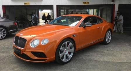 Bentley Continental GT V8 S. (Detik.com)