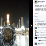 Bob Sick saat berfoto di Mekah, Arab Saudi. (Istimewa/Facebook)