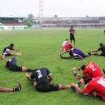 Kegiatan latihan PSIM Jogja di Stadion Mandala Krida. (Arief Junianto/JIBI/Harian Jogja)
