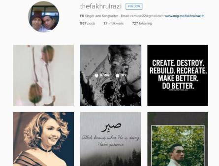 Instagram Fakhrul Razi