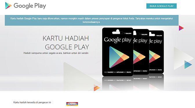 Google Play Gift (Liputan6.com)