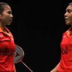 MALAYSIA OPEN 2016 : Ditundukkan Wakil Korsel, Greysia/Nitya Gagal ke Final