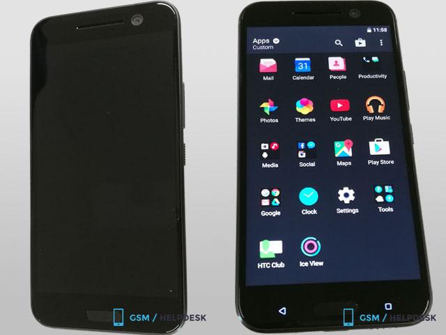 HTC 10 Hitam (Slashgear)