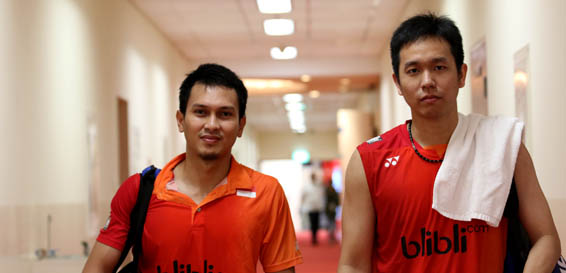 Hendra-Ahsan Kalah (Badmintonindonesia.org)