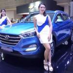 Hyundai All New Tucson di pameran IIMS 2016. (Okezone.com)