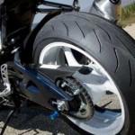 Ilustrasi ban sepeda motor. (Motorcycle-usa.com)