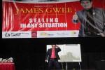James Gwee ketika memberikan motivasi di UKDW, Jogja, Rabu (27/4/2016) malam. (Kusnul Isti Qomah/JIBI/Harian Jogja)