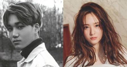 Kai EXO dan Krystal (Allkpop.com)