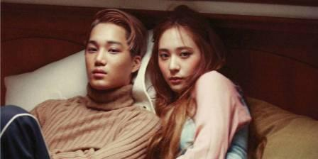 Kai dan Krystal (www.allkpop.com)