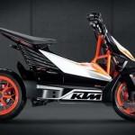Konsep KTM E-Speed. (Visordown.com)