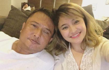 Marshanda dan ayahnya (Instagram)