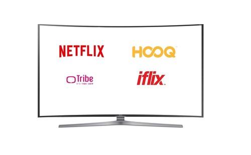 Netflix, Tribe. Hooq dan Iflix (Detik)