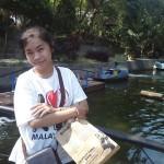 Novita Dewi, salah satu pemain liong Ladies Dragon Hoo Hap Hwee Jogja, saat berwisata di Gembiraloka Zoo. (Foto Istimewa)