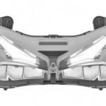 Paten headlamp Honda CBR250RR. (Oami.europa.eu)