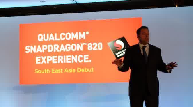 Peluncuran Snapdragon 820 (Liputan6.com)
