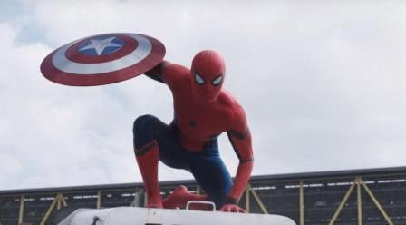 Spiderman dalam film Captain America Civil War. (Youtube.com)