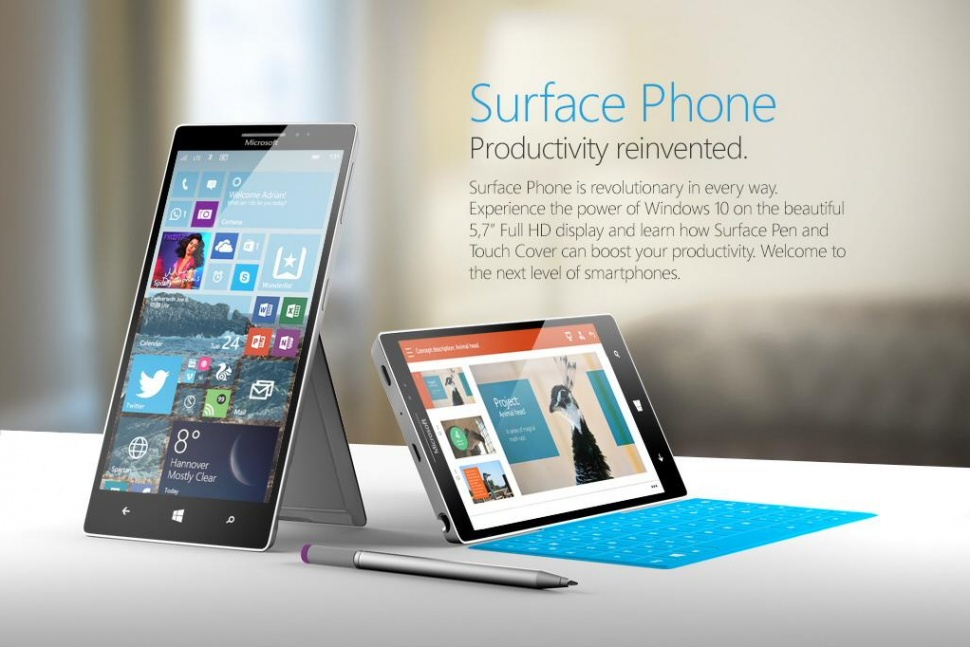Surface Phone (Digitaltrends)