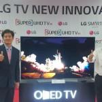 TV LG Oled 4K (Okezone)