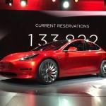 Tesla Model 3. (Theverge.com)