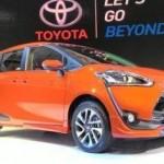 Toyota Sienta meluncur di IIMS 2016. (Detik.com)