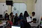 Kunjungan mahasiswa Ilmu Komunikasi FISIPOL UAJY ke Griya Harian Jogja (Mediani Dyah Natalia/JIBI/Harian Jogja)
