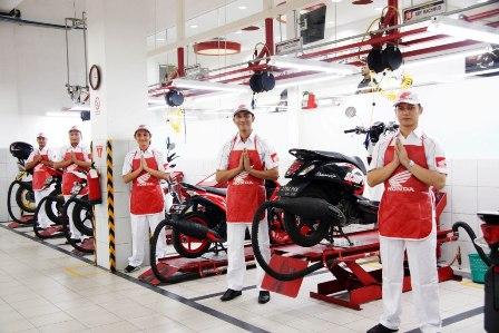layanan di Ahass Honda (ilustrasi/istimewa)