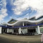 Foto bangunan terminal baru Bandara Djalaludin yang masih dalam tahap pembangunan di Kecamatan Isimu, Gorontalo, Selasa (26/1).  (JIBI/Harian Jogja/Antara)