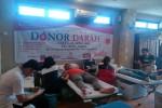 Suasana aksi donor darah di Canthya Hotel jalan Sisingaramangaraja No. 21a Jogja, Senin (18/4/2016). (JIBI/Harian Jogja/Ist)