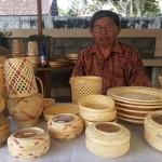 UMKM : Paidi Eksis Kembangkan Kerajinan Bambu